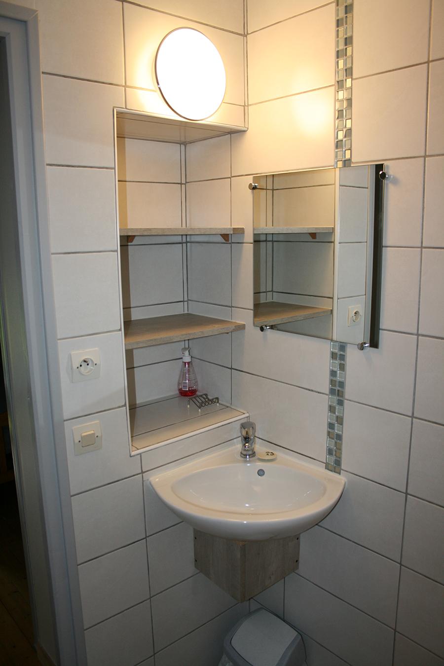 Toilettes/Salle de bain 3m<sup>